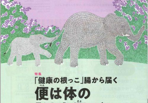 キューサイ株式会社様:「健康手帖」4月号~記憶力維持ウォーキング~